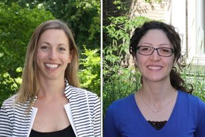 Marianne Touchie (CivE, MIE) and Fae Azhari (MIE, CivE) are two new professors who joined U of T Engineering in July 2016.