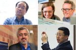 Clockwise from top left: Professors Zheng-Hong Lu, Jeffrey Packer (at right), Yu Sun and Kamran Behdinan are have been elected fellows of the American Association for the Advancement of Science (AAAS). Fellows are recognized for meritorious efforts to advance science or its applications. (Credits, clockwise from top left: Mark Balson, Neil Ta, Liz Do, Ray Cheah)