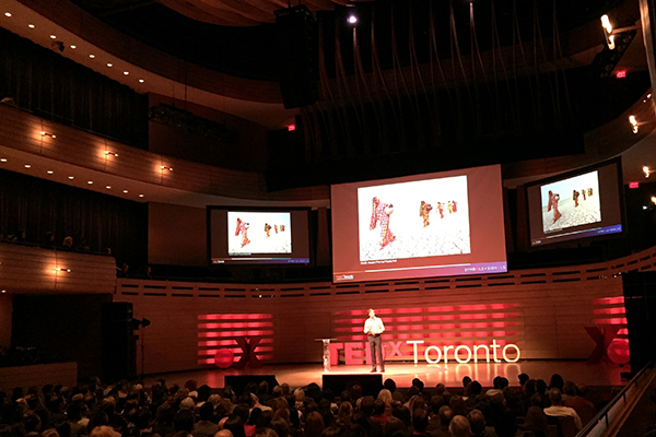 Thirst for knowledge: MIE student delivers big ideas at TEDxToronto