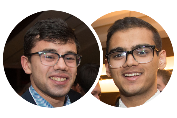 Four recent U of T Engineering graduates go through business bootcamp at The Next 36