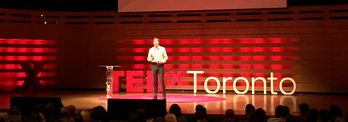 MIE student delivers big ideas at TEDxToronto