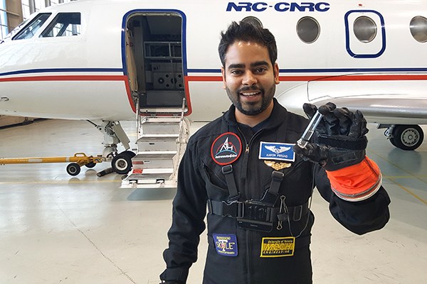 MIE alumnus Aaron Persad makes the shortlist to become Canada's next astronaut