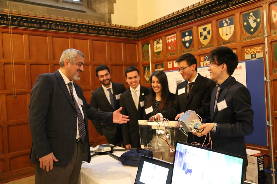 Engineering students present innovative design solutions at Multidisciplinary Capstone Showcase
