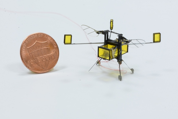 CBC: Professor Eric Diller gives expert comment on insect-sized robot that go from air to water and back again