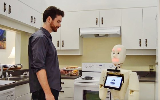 NBC News: Can These Little Robots Ease the Big Eldercare Crunch?