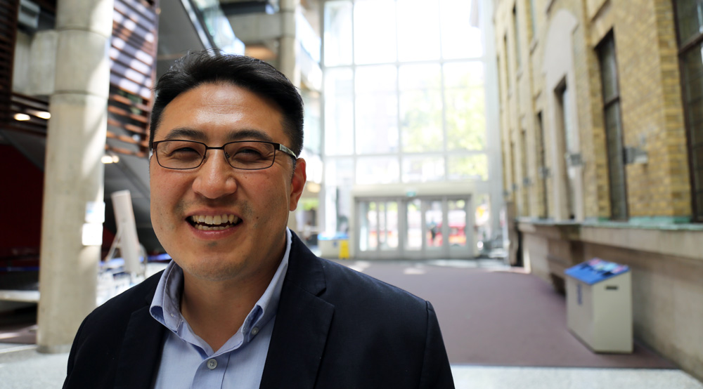 Welcome to MIE's newest faculty member, Professor Patrick Lee