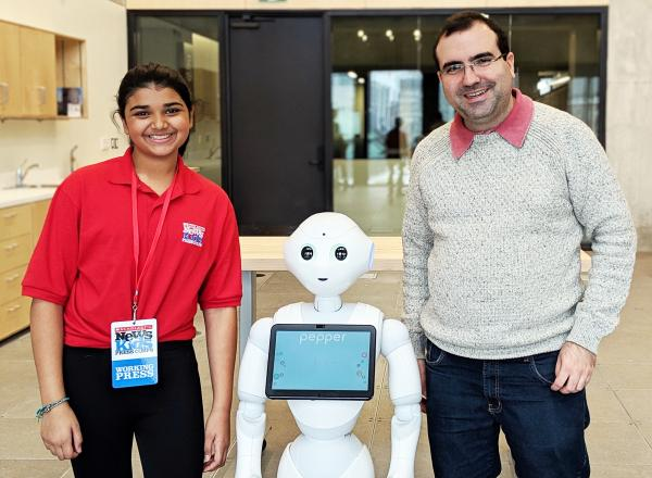 Post-doctoral fellow Silas Alves interviewed about research conducted at MIE's Autonomous Systems and Biomechatonics Lab, Scholastic News Kids Press Corps
