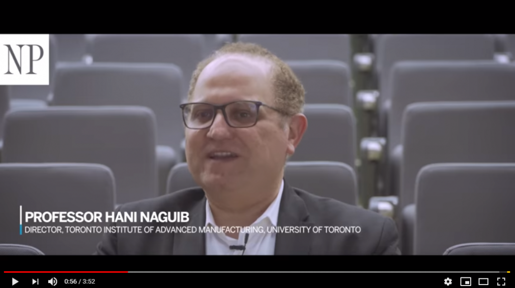 Professor Hani Naguib featured in Financial Post video about Ontario's manufacturing sector (Financial Post)