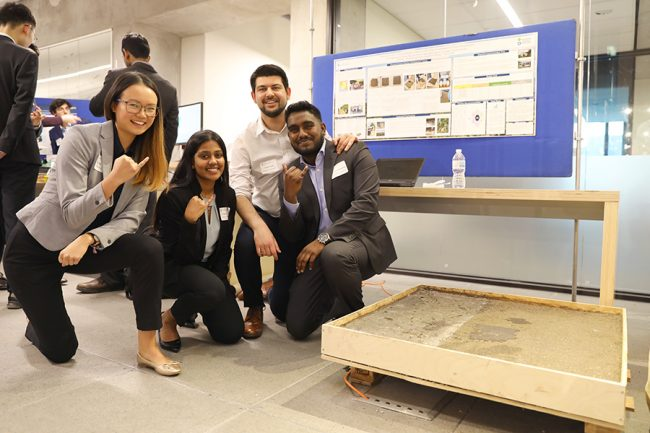 Mechanical engineering undergraduate students Tayyeb Zarabi, Jonathan Jeyarajah and Kyle Bimm featured in story about U of T Engineering's Multidisciplinary Design Showcase. (U of T Engineering News)
