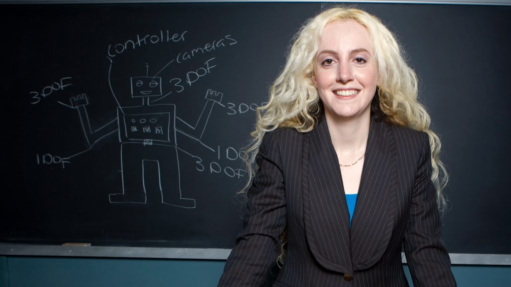 Professor Goldie Nejat highlighted in feature about Canada's artificial intelligence development (Converge)