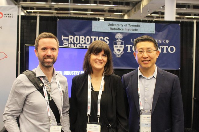 Professor Yu Sun to lead University of Toronto's new Robotics Institute (U of T Engineering News)