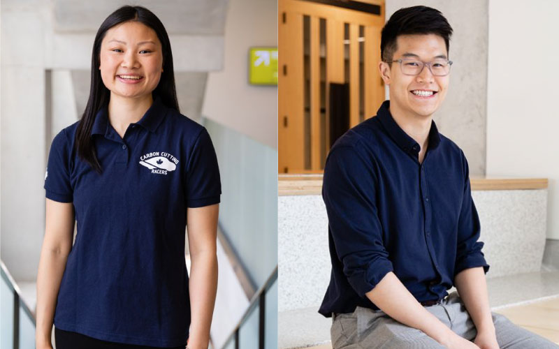 Students Melissa Fung (Mech 1T8 + PEY) and Christopher Sun (IndE PhD 1T9) featured in Grads to Watch 2019 (U of T Engineering News)