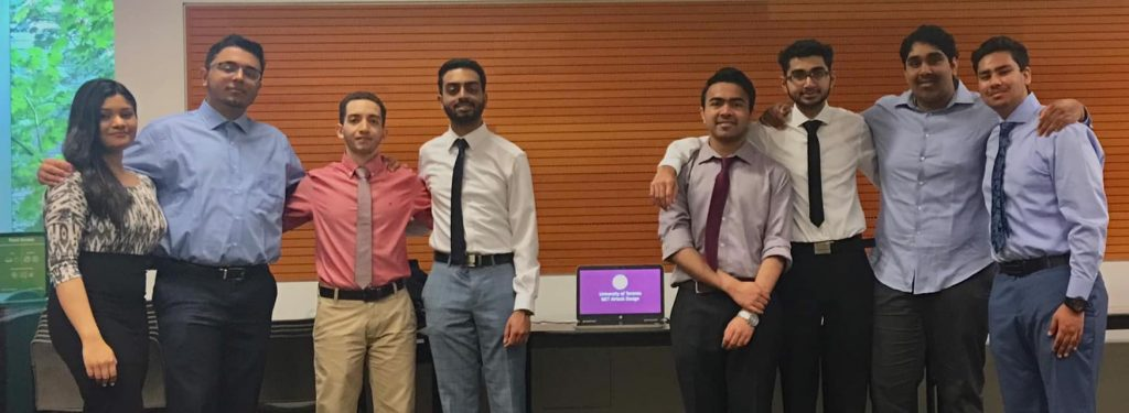 MIE students win 2nd place at UBC's Project Airlock Challenge