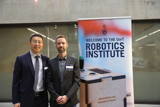Healthcare Robotics research project led by Professor Yu Sun and supported by 8 U of T Engineering professors including Jim Mills, Goldie Nejat and Eric Diller receives NSERC CREATE grant (U of T Engineering News)